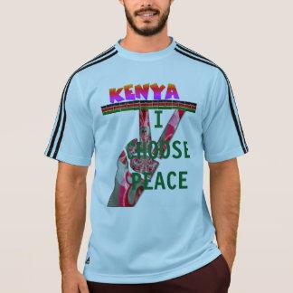 Camiseta Elección presidencial de Kenia elijo paz