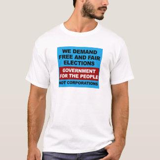 Camiseta Elecciones libres y justas