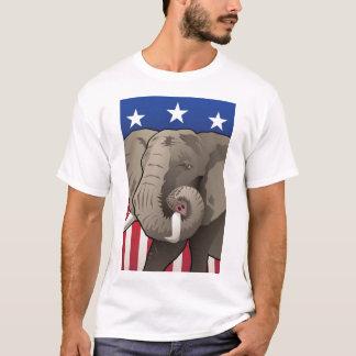 Camiseta Elefante de los E.E.U.U., orgullo republicano