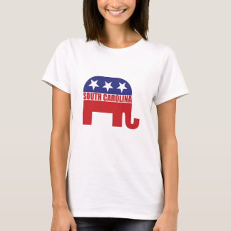 Camiseta Elefante del republicano de Carolina del Sur