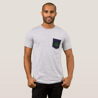 Camiseta elegante del bolsillo del adaptador del