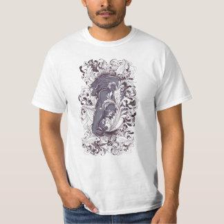 Camiseta elegante del hombre lobo