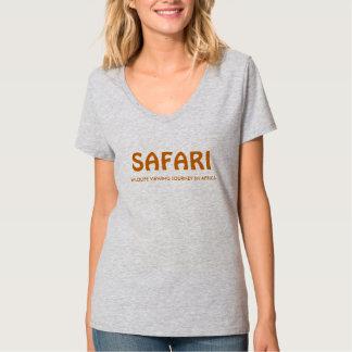 Camiseta elegante del safari