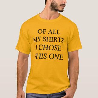 Camiseta elegido
