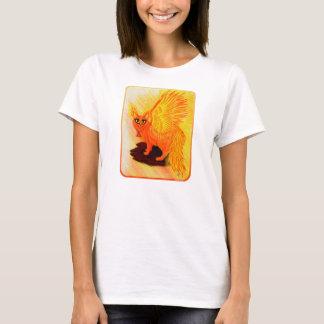 Camiseta elemental de la fantasía del arte del