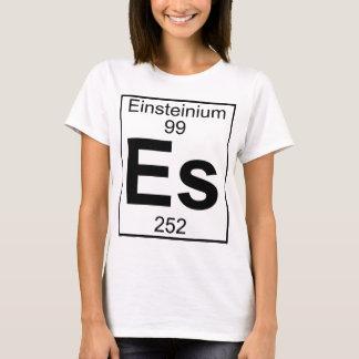 Camiseta Elemento 099 - Es - Einsteinio (lleno)