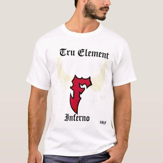Camiseta Elemento de Tru, infierno, IBF
