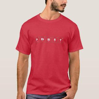 Camiseta Elementos de la persistencia