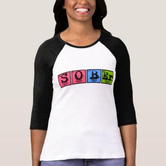Camiseta Elementos de sobrio (color)