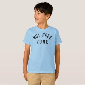 Camiseta Elevación de la zona franca de la nuez del