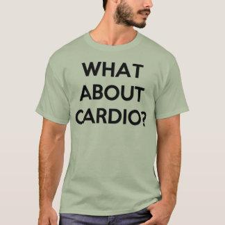 Camiseta ¿Elevación pesada para cardiio?