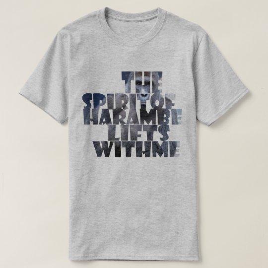 Camiseta Elevaciones de Harambe conmigo