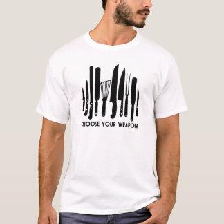 Camiseta Elija su arma