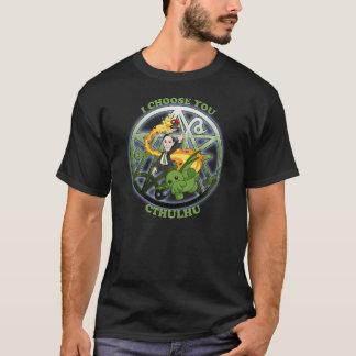 Camiseta Elijo Cthulhu: Verde