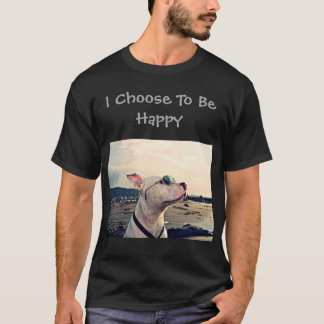 Camiseta Elijo ser pitbull feliz