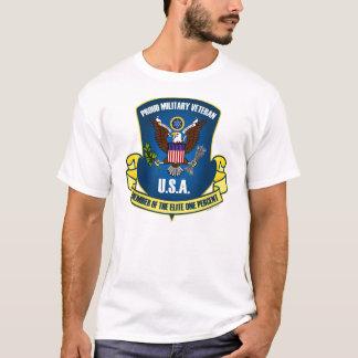 Camiseta Élite el un por ciento (de azul)