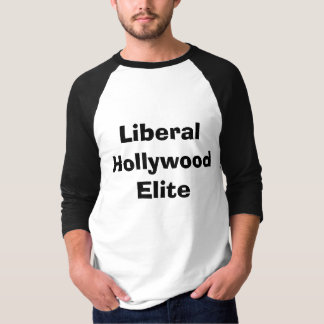 Camiseta Élite liberal de Hollywood