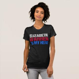 Camiseta Elizabeth Warren es mi héroe