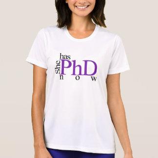 Camiseta Ella ahora tiene PhD