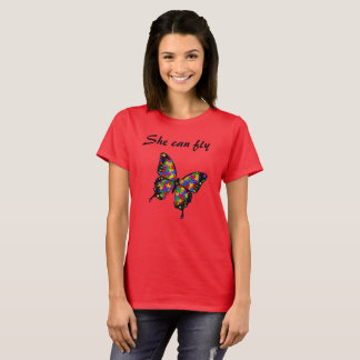 Camiseta Ella puede volar