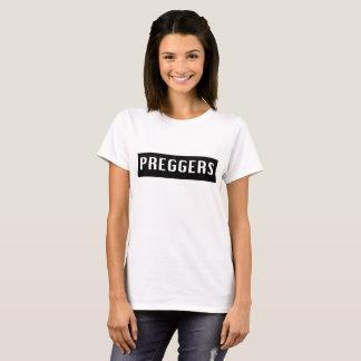 Camiseta embarazada de maternidad del lema
