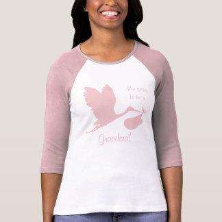 Camiseta Embarazo Annoucement para la abuela