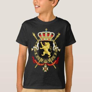 Camiseta Emblema belga - escudo de armas de Bélgica