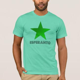 Camiseta emblema del esperantist