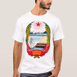 Camiseta emblema del norte de Corea