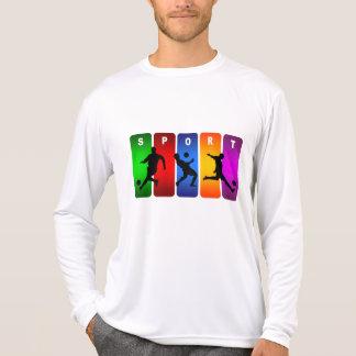 Camiseta Emblema multicolor del fútbol