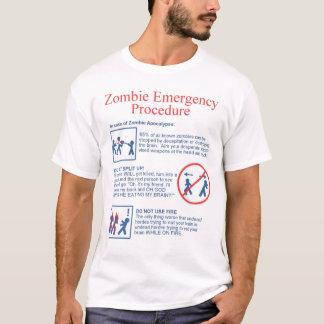 Camiseta Emergencia del zombi