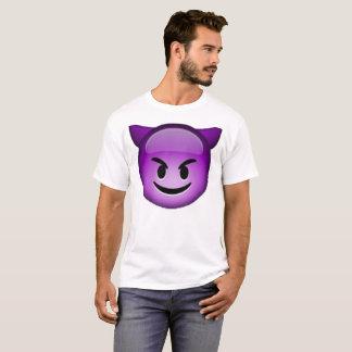 Camiseta Emoji - Imp sonriente