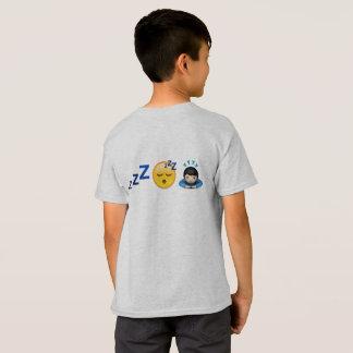Camiseta emoji soñoliento