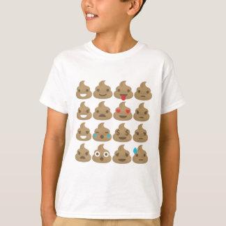 Camiseta emojis del impulso