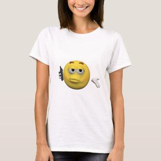 Camiseta Emoticon del teléfono