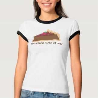 Camiseta ¿empanada del chocolate - usted quiere juntar las