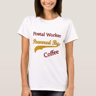 Camiseta Empleado de correos accionado por el café
