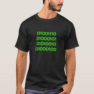 Camiseta Empollón en binario