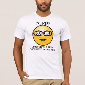 Camiseta ¿Empollón? Prefiero Badass intelectual