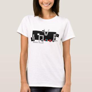 """Camiseta """"En amor con diseño único de EDM"""" EDM"""