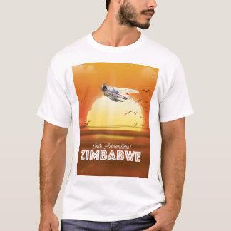 Camiseta ¡En aventura! Poster del viaje de Zimbabwe