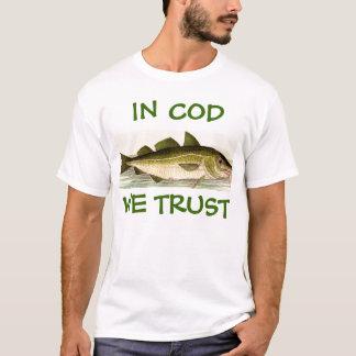 Camiseta ¡En bacalao confiamos en!