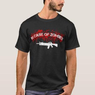 Camiseta En caso de zombis