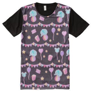 Camiseta en colores pastel del circo