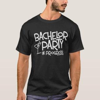 Camiseta en curso de la despedida de soltero