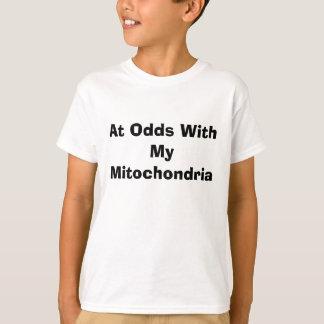 Camiseta En desacuerdo con mis mitocondrias