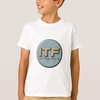 Camiseta En el logotipo de The Field