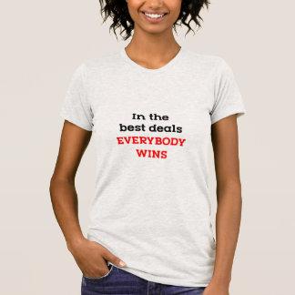 Camiseta En los mejores tratos todos gana