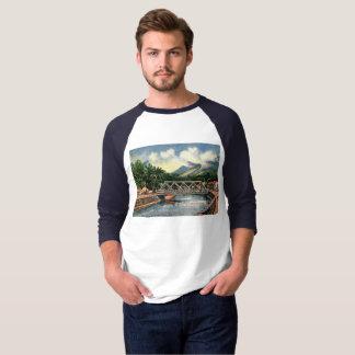 Camiseta En los suburbios, vintage de Honolulu, Hawaii