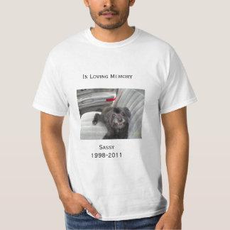 Camiseta En memoria cariñosa